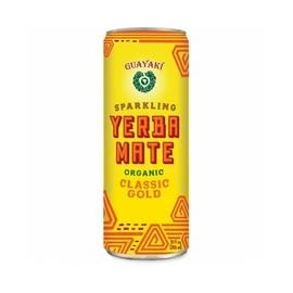Guayaki Yerba Mate Classic Gold Sparkling Mate, 12 Fluid Ounce - 12 per case. 2 Guayaki Classic Gold Good Value and Practical