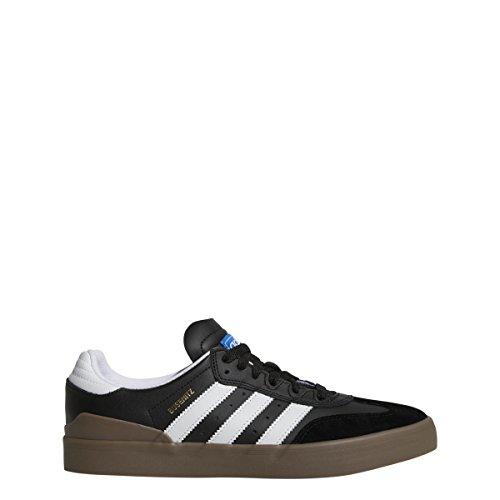 Adidas Hommes Busenitz Vulc Rx Chaussure Core Noir / Ftwr Blanc / Gum5-12.5 Us
