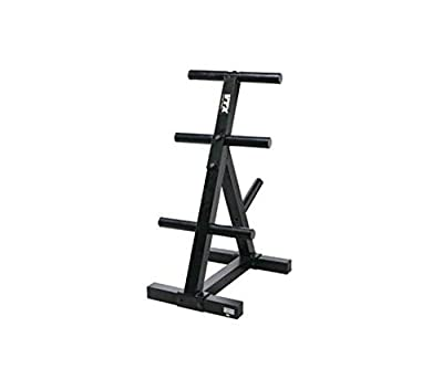 VTX by Troy Barbell T-OPT Heavy Duty Olympic Plate Rack, One Size