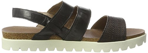 camel active Sicilia 75, Women's Sandals Black - Black