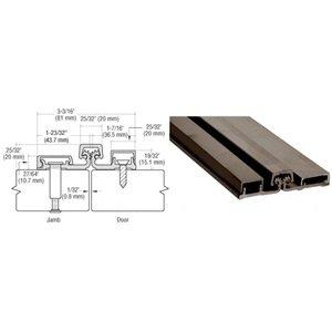 CRL 200 Series Dark Bronze Standard Full Surface Continuous Hinge