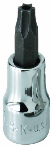 SK Hand Tool 42525 Tamper Proof Torx T25 Drive Bit Socket, 1/4-Inch