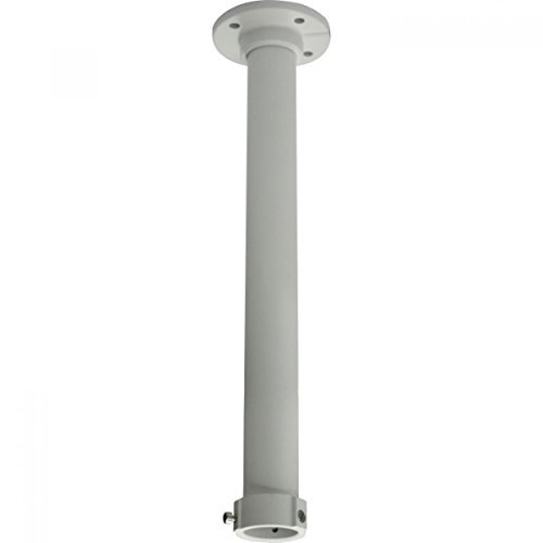 CPM-L DS-1662ZJ Indoor/Outdoor Long Pendent Ceiling Mount Bracket for Most Hikvision PTZ Camera DS-2DE5184-AE by Kenuco