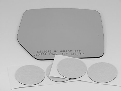 07-15 Jeep Liberty / 07-14 Jeep Patriot, Right Passenger, Replacement Mirror Glass Lens with Adhesive, USA