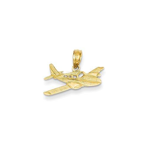 14k Yellow Gold Cessna Plane ()