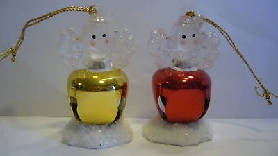 Avon Jingle Buddies Lighted Angel (Avon Ornament)