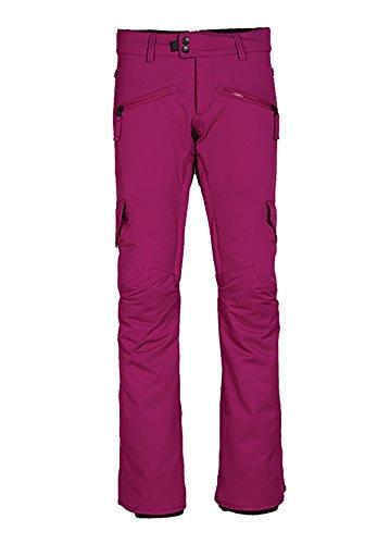 686 Womens Pants - 686 WMS Mistress Insl Cargo PNT, Fuchsia, Large