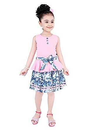 Pinky baby A Line Skirt For Girls