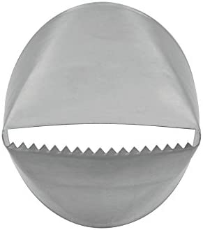 Ateco # 790 - Ribbon Pastry Tip - Stainless Steel, Silver, Small