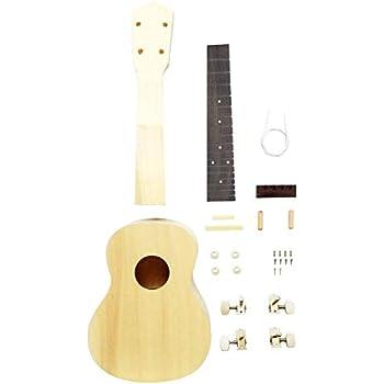 zimo diy ukulele make your own ukulele hawaii ukulele kit 23inch musical instruments. Black Bedroom Furniture Sets. Home Design Ideas
