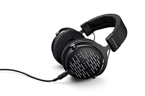 Beyerdynamic DT 1990 Pro Open Studio Reference Headphones 250 Ohm Bundle with Hard Case and Deluxe Headphone Cleaning Kit