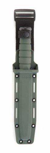 Ka-Bar Hard Sheath, Foliage Green, 7-Inch/Large