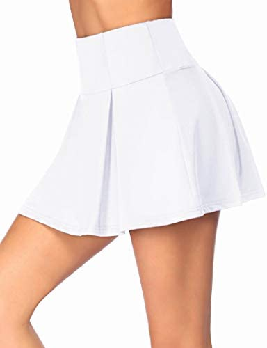 Onbay Women's Active Skirts and Shorts Lightweight Pleated Athletic Skorts for Running Tennis Golf Workout Sports S-XXXL