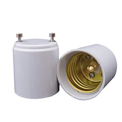 Tharv❤1Pcs GU24 to E27 Adapter Converter Lamp Holder Base Socket for LED Light Bulbs
