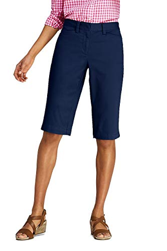 Lands' End Women's Petite Mid Rise 12