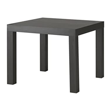 Ikea Black-Brown Lack Side Table