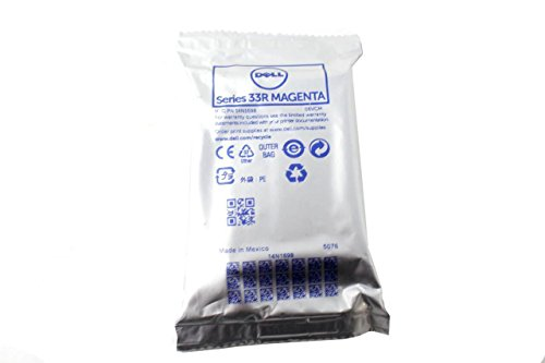 Magenta Model Inkjet Cartridge (Dell Series 33R V525w Inkjet Printer Magenta Ink Cartridge 06VCM 006VCM CN-006VCM)