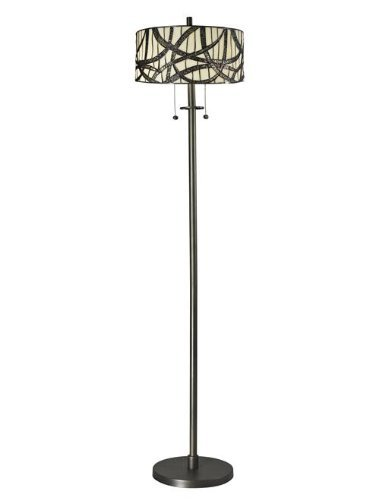 Dale Tiffany TF12415 Willow Cottage Floor Lamp, 14.0