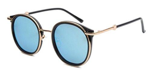 Sol Mujer De Blue De Para Metal Gafas T5qHAwBq