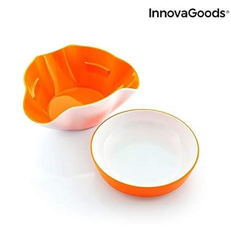 InnovaGoods IG813819 Bols para Aperitivos 2 en 1 (2 Piezas ...