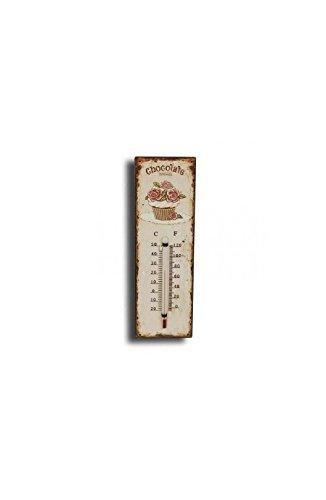 Termometro Parete Chocolate Cupcake in metallo Cioccolato pasticceria clémentine Créations
