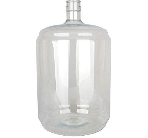 Vintage Shop B00FBWSTEG Carboy5 Plastic Pet Carboy, 5 Gallon, Clear