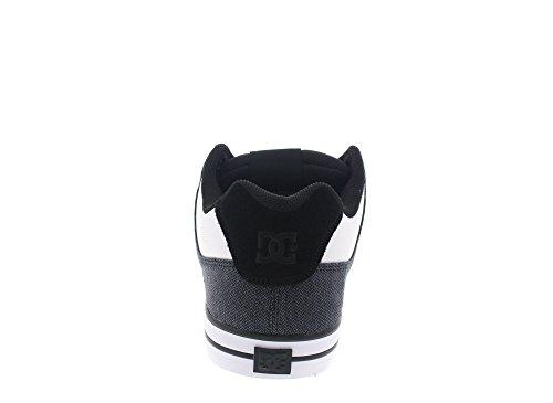 DC Uomo Shoes DC Se Pure White Basse Black Shoes rpPxYwr