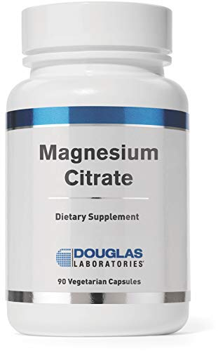 Magnesium Citrate 90 Capsules - Douglas Laboratories - Magnesium Citrate - Supports Enyzmatic Activity, Muscles and Nerves* - 90 Capsules