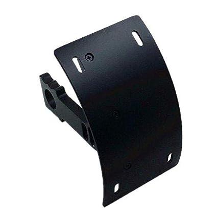 Amazon Com Swingarm Side Mount Curve License Plate Bracket For
