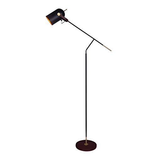 Floor Lamp Nordic Personality Leather Wrought Iron Bedroom Bedside Table Lamp. ()
