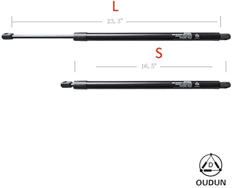 2 Rear Hatch Liftgate Lift Support Struts Shock Fit 05-07 Equinox 06-07 Torrent