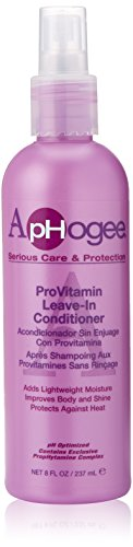 Aphogee Pro-Vitamin Leave-In Conditioner, 8 Ounce