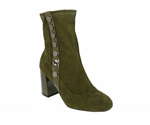 SKOS Damen Stiefel & Stiefeletten Green (s9775)