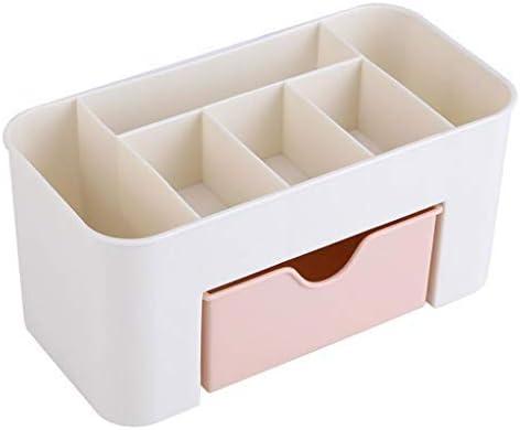 Caja de Almacenamiento de plástico Organizador de Maquillaje Cajones de la Caja Organizador de Almacenamiento de exhibición cosmética Artículos Diversos de Oficina Cajas de contenedores de m: Amazon.es: Hogar