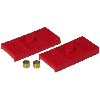Prothane 7-1701 Red Rear Multi Leaf Spring Pad Kit