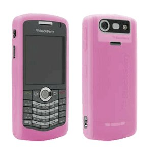 OEM BlackBerry Skin Cover for BlackBerry Pearl 8110 8120 8130, Pink HDW-15911-001 -