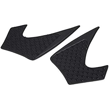 Tank Traction Pads, Anti-Slip Rubber Gas Tank Traction Pad Knee Grip Sticker for Yamaha MT-07 FZ-07