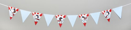 Eureka Peanuts Flying Ace Pennant Banner, Measures 10 ft long -