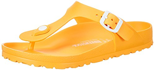 Birkenstock Women's Gizeh Scuba Yellow EVA Sandals 38 (US Women's 7-7.5) ()