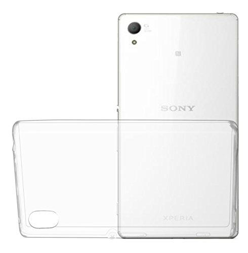 OKCS® TPU Hülle Case Schutzhülle für Sony Xperia Z4 Compact inklusive Wunderglass Panzerglas Screenprotector Schutzfolie Displayschutz Glasprotector