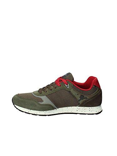 Blue Dark Tiguan Running Scamosciata US Uomo rosso Sneaker Tessuto Polo Scarpe Pelle US18UP19 xS1fgFUqww