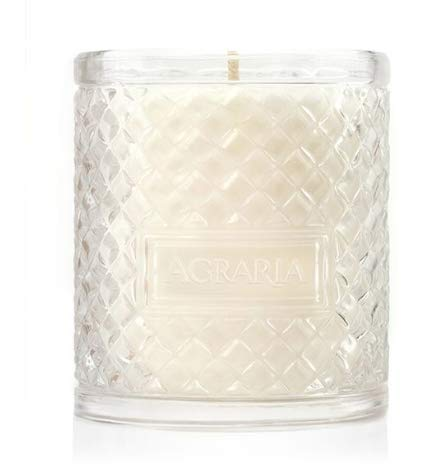 AGRARIA Luxury Woven Crystal Fragrance Balsam Perfume Scented Candle, 7 Ounces Agraria Balsam Perfume Candle