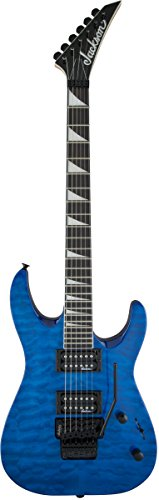 Jackson JS32Q Dinky - Trans Blue