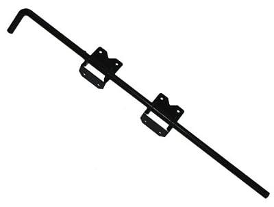 Vinyl Fence Gate Drop Rod (Black)