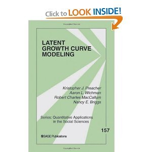 Latent Growth Curve Modeling BYWichman (Latent Curve Growth)