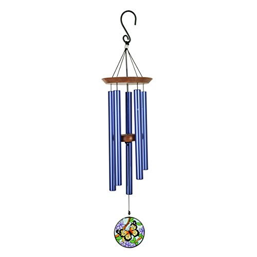 AWCL C&F Precision Tuned Wind Chime with Butterfly Sun-Catcher WCL61011 28