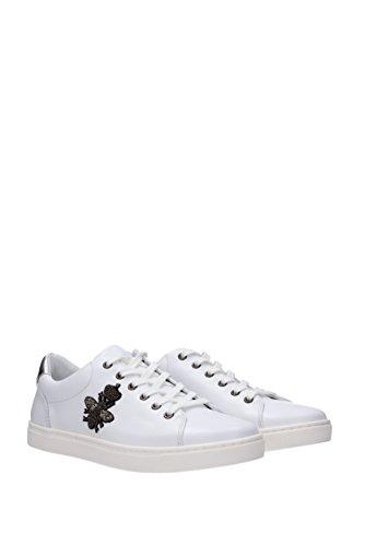 Sneakers Mensen Dolce & Gabbana - Leder (cs1475ab731) Eu Wit