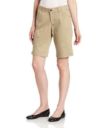 Dickies Women's Genuine Relaxed Stretch Twill Short, Desert Sand, 8