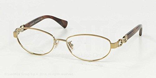 Coach Stacy Eyeglasses HC5062 9205 GoldBurgundy Horn 52 16 135