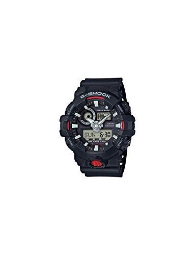 Casio Men's 'G SHOCK' Quartz Resin Casual Watch, Color:Black (Model: (Casio G-shock Illuminator)